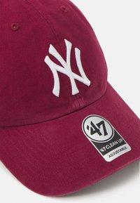 '47 - NEW YORK YANKEES CLEAN UP UNISEX - Cap - cardinal - 3