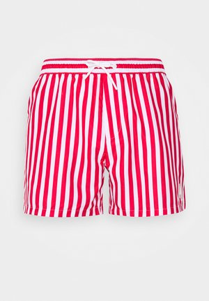 STRIPE SWIM - Swimming shorts - red