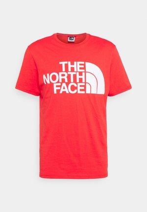 STANDARD TEE - T-shirt imprimé - horizon red