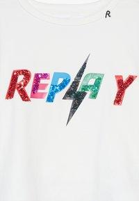 Replay - Maglietta a manica lunga - white - 3