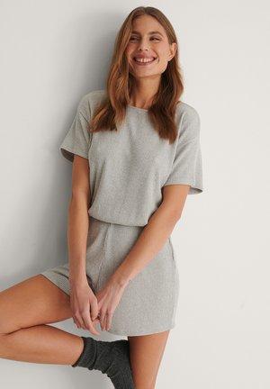 Pyjama bottoms - grey melange
