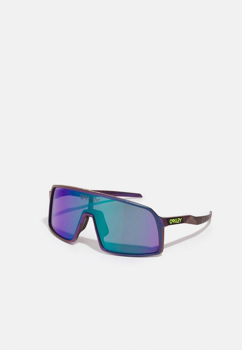 Oakley - SUTRO UNISEX - Gafas de deporte - green/purple shift