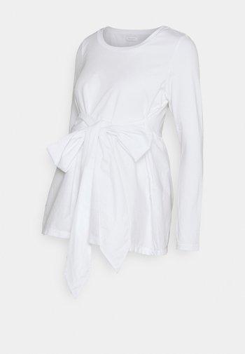 MLCAROLINA - Topper langermet - bright white