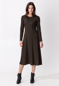 Indiska - ARA - Jumper dress - brown - 0