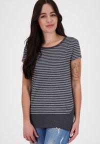 alife & kickin - COCOAK  - Print T-shirt - marine - 0