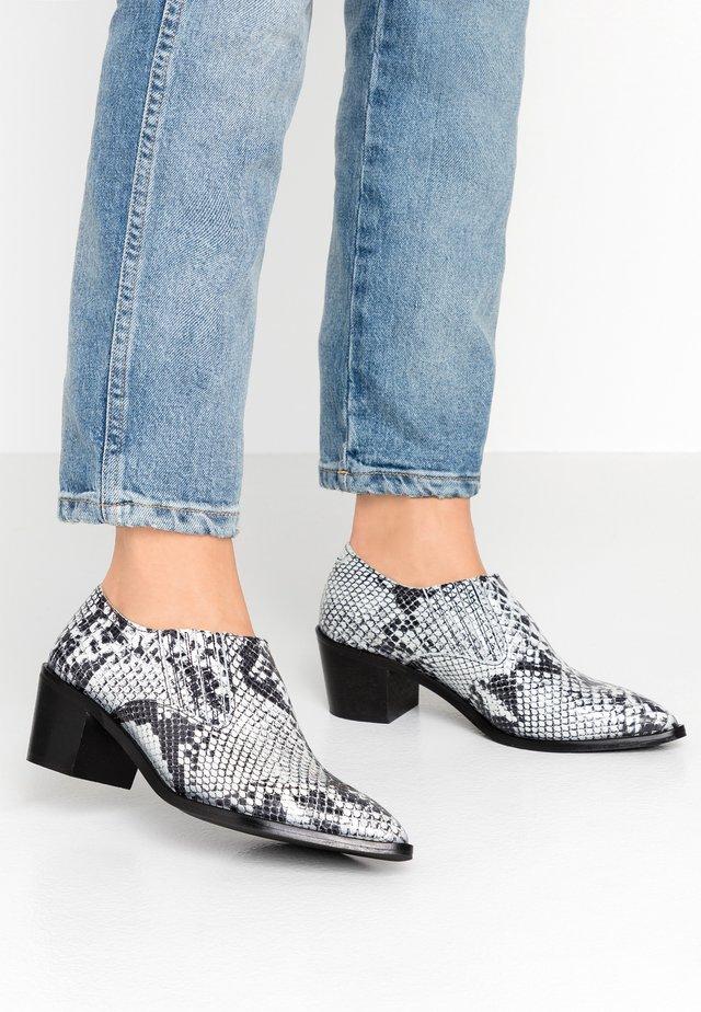 Korte laarzen - blanco