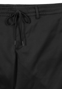 BOSS - TAPERED CUFFED - Tracksuit bottoms - black - 1