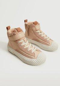 Mango Kids - BASKETS - Sneakers hoog - rose clair - 1