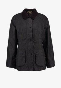 Barbour - BEADNELL WAX JACKET - Waterproof jacket - sage - 7
