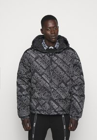 Versace Jeans Couture - QUILTED JACKET - Down jacket - nero - 0