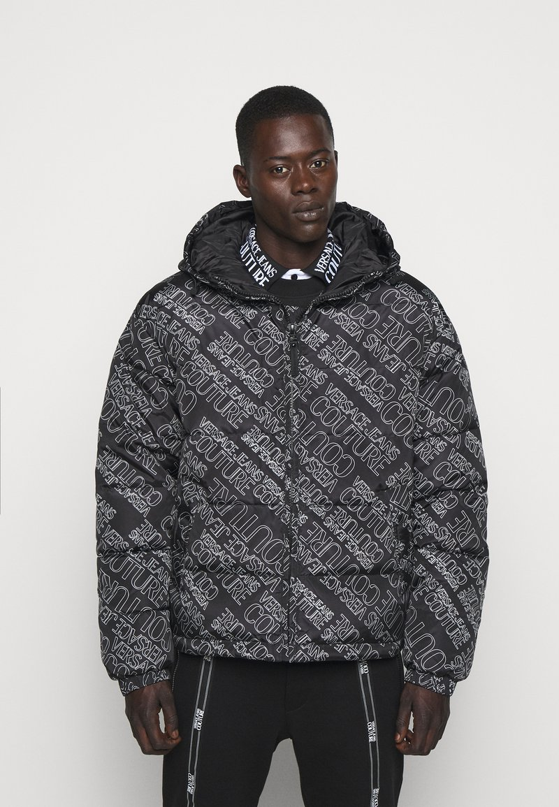 Versace Jeans Couture - QUILTED JACKET - Down jacket - nero