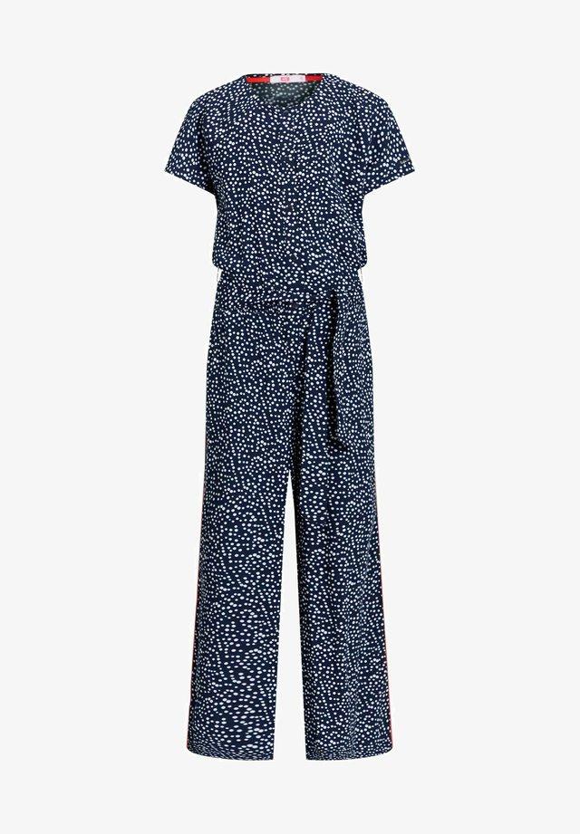 MET STIPPENDESSIN - Jumpsuit - dark blue