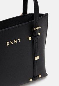 DKNY - BO MINI - Handbag - black/gold-coloured - 3