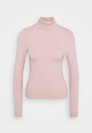 VMHAPPINESS ROLLNECK  - Jumper - sepia rose
