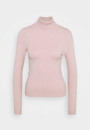 VMHAPPINESS ROLLNECK  - Jersey de punto - sepia rose