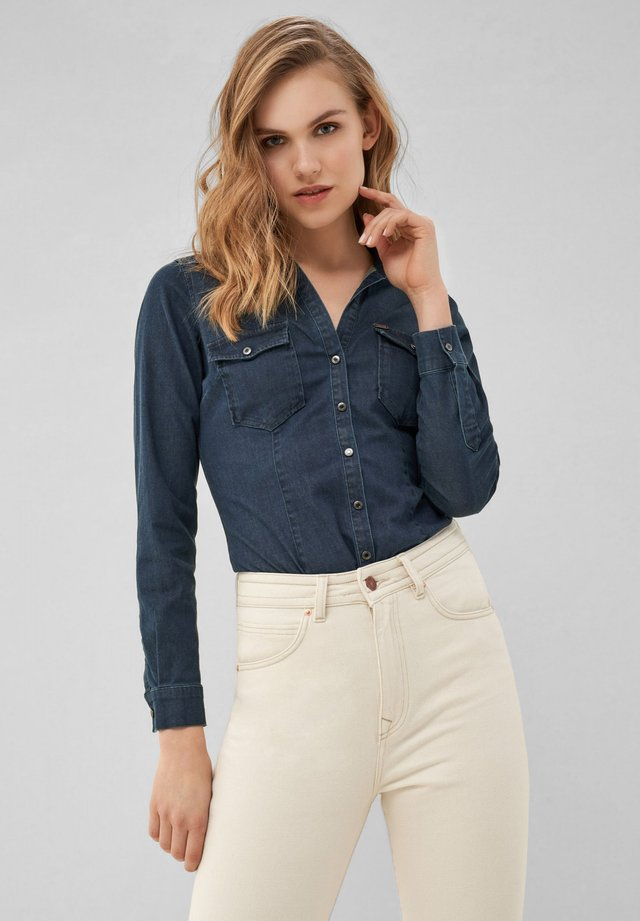 CHAMPAIGN - Button-down blouse - blue