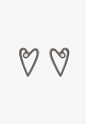 OPEN HEART STAR CHOUPETTE TRIPLE  - Boucles d'oreilles - gunmetal