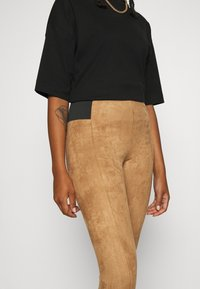 Vero Moda - VMCAVA - Leggings - tobacco brown - 4