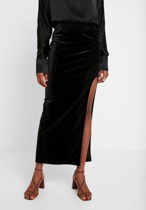 ADRIANA SKIRT - Maxi skirt - black