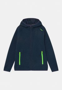 CMP - FIX HOOD UNISEX - Fleece jacket - inchiostro nero - 0