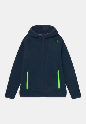FIX HOOD UNISEX - Fleece jacket - inchiostro nero