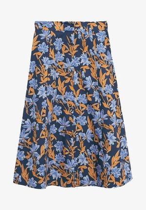 CRIS-H - A-line skirt - azul marino oscuro