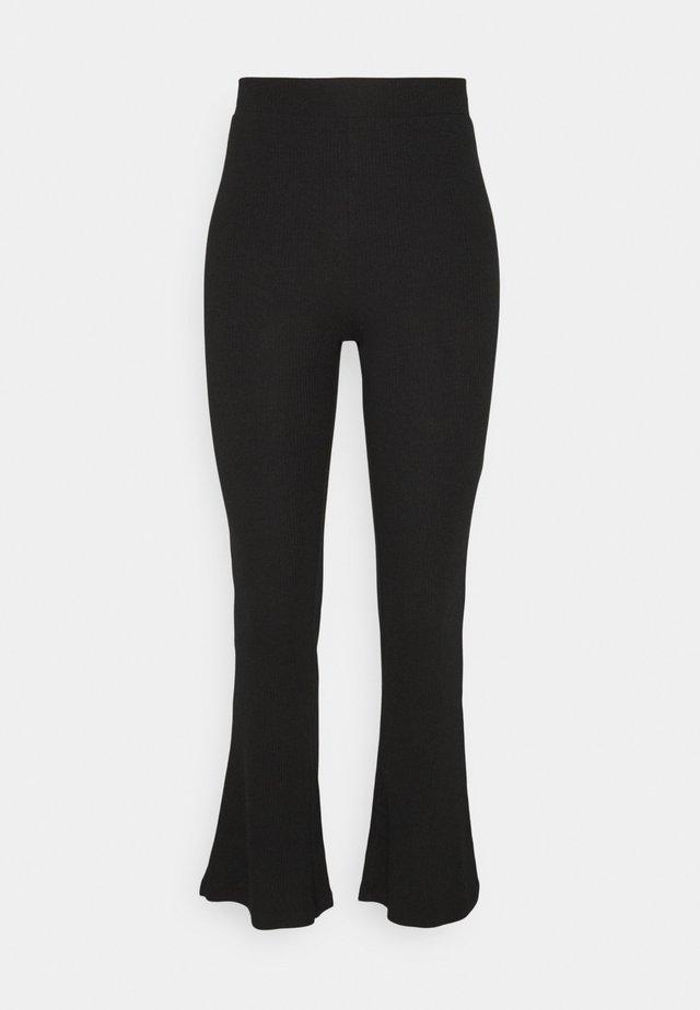 NMPASA PANTS - Trousers - black