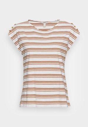 BUTTON - Print T-shirt - off white