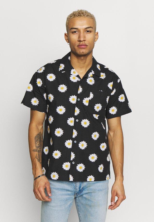 IDEALS ORGANIC DAISY - Shirt - black multi