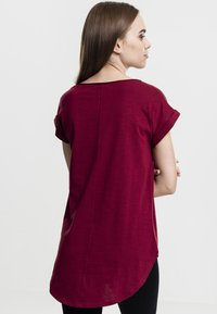 Urban Classics - SLUB TEE - Basic T-shirt - burgundy - 1