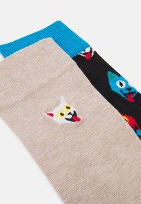 Happy Socks - CAT SOCK UNISEX 2 PACK - Socks - multi coloured - 1