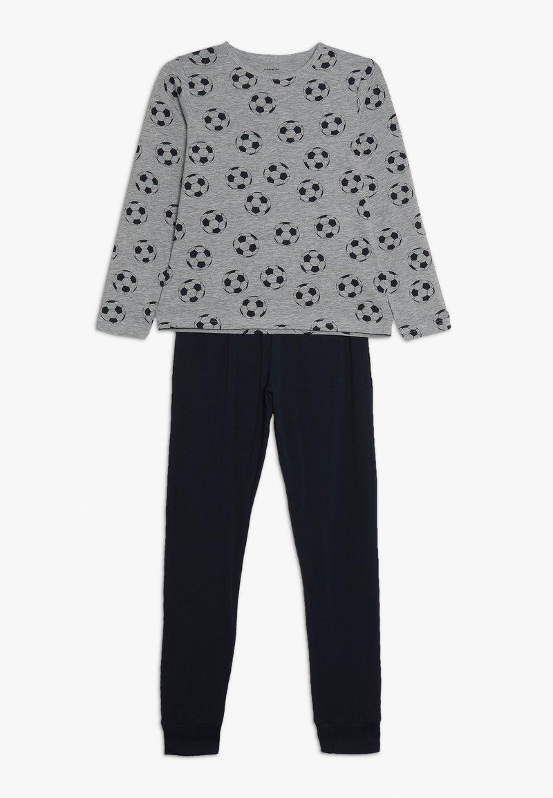 Name it - NKMNIGHTSET FOOTBALL - Pyjama set - grey melange