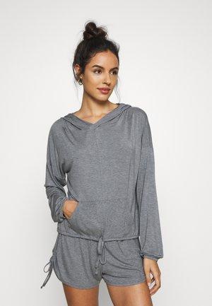 HOOD - Pyjama top - charcoal