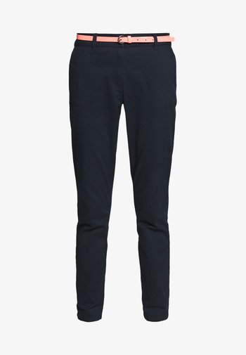 BELTED SLIM - Chinos - sky captain blue