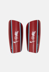 Nike Performance - LIVERPOOL FC NK MERC - Shin pads - gym red/energy/white - 0