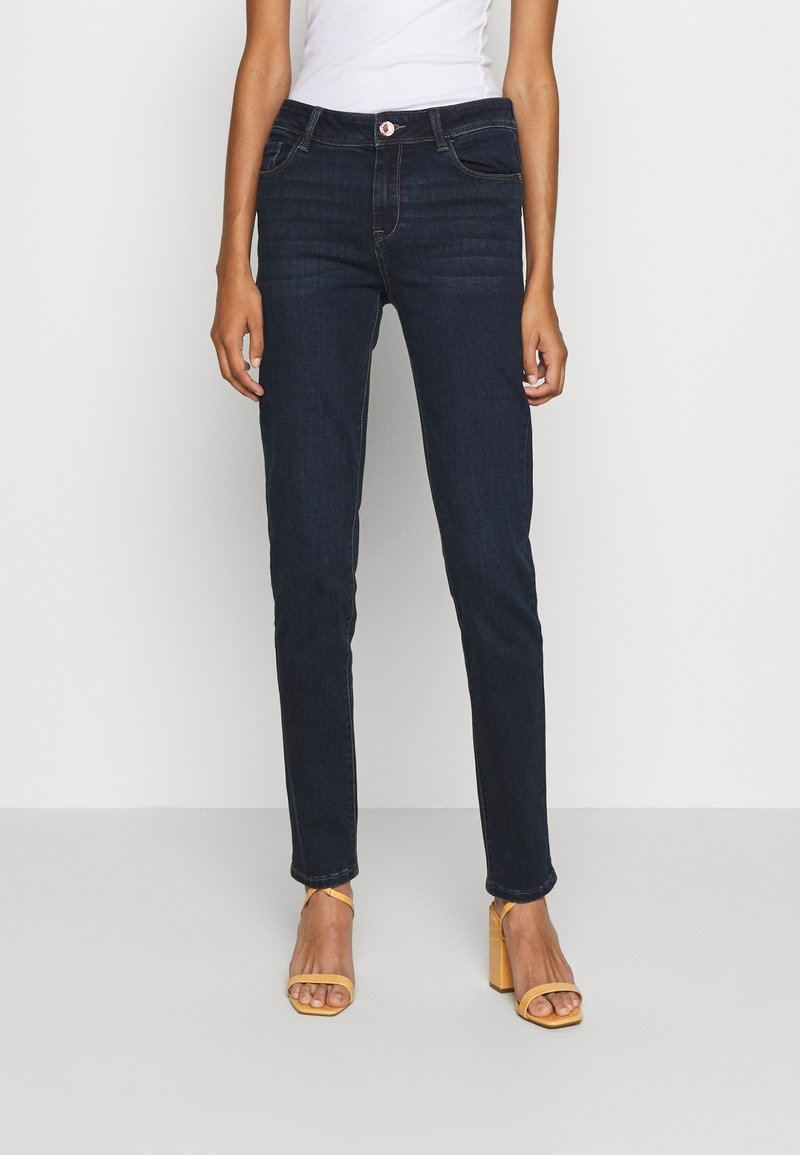 Morgan - POM - Jeans Skinny Fit - dark blue