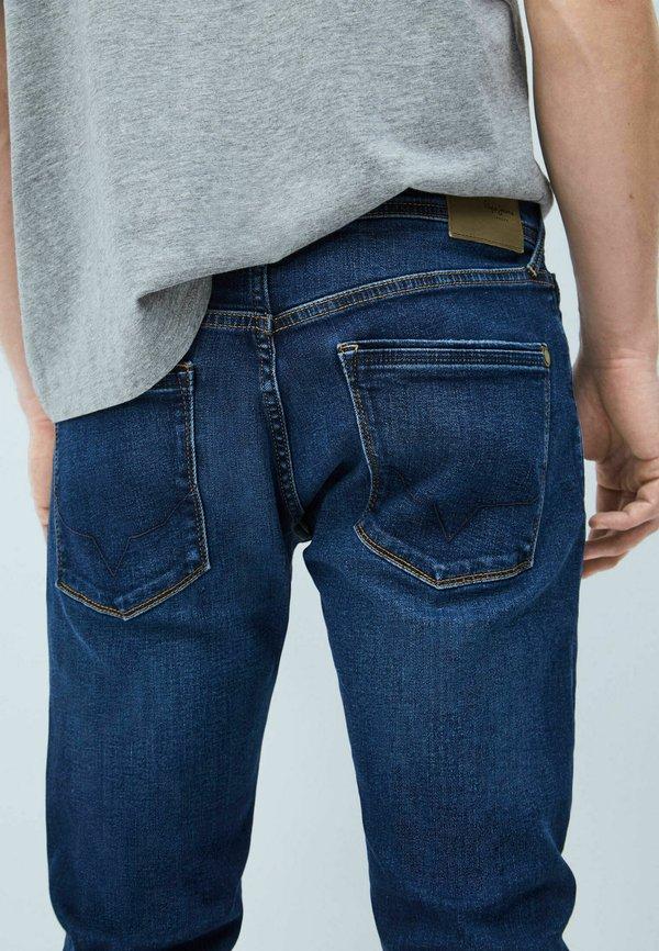 Pepe Jeans STANLEY - Jeansy Slim Fit - denim/niebieski denim Odzież Męska PFQW