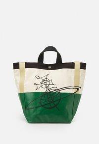 Vivienne Westwood - WORKER RUNNER HOLDALL - Tote bag - green/beige - 0