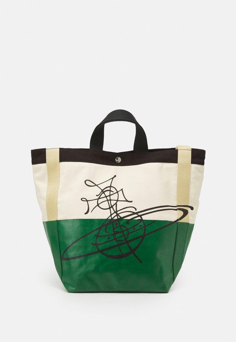 Vivienne Westwood - WORKER RUNNER HOLDALL - Tote bag - green/beige