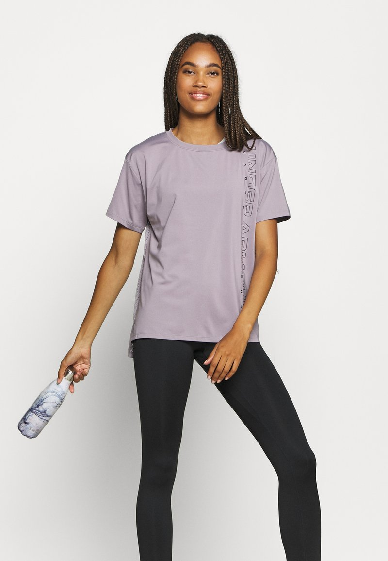 Under Armour - SPORT GRAPHIC - Triko s potiskem - slate purple