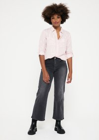 LolaLiza - WITH LUREX STRIPES - Button-down blouse - light pink - 4