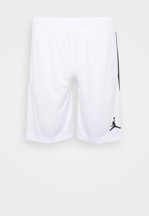 ALPHA DRY - Sports shorts - white/black