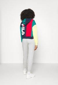 Fila - BAYOU - Sweatshirt - black iris/true red/teal green/aurora - 2