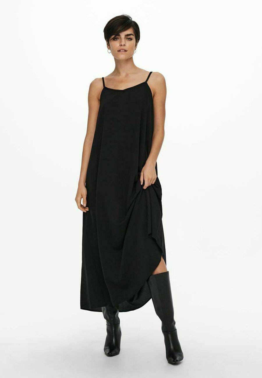 Donna Vestito lungo - black