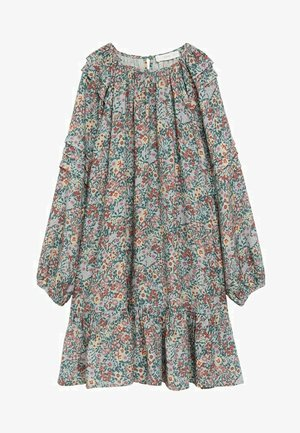 TILDA - Korte jurk - wassergrün