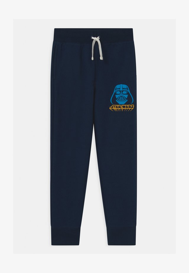 BOY VADER - Tracksuit bottoms - blue galaxy