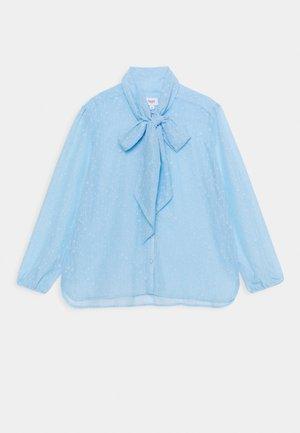 ELENORA - Button-down blouse - cerulean
