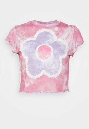 JAM TEE - T-shirt med print - pink