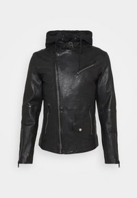 Freaky Nation - BE READY - Leather jacket - black - 9