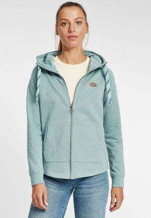 AMALIA - Zip-up hoodie - smoke blue melange